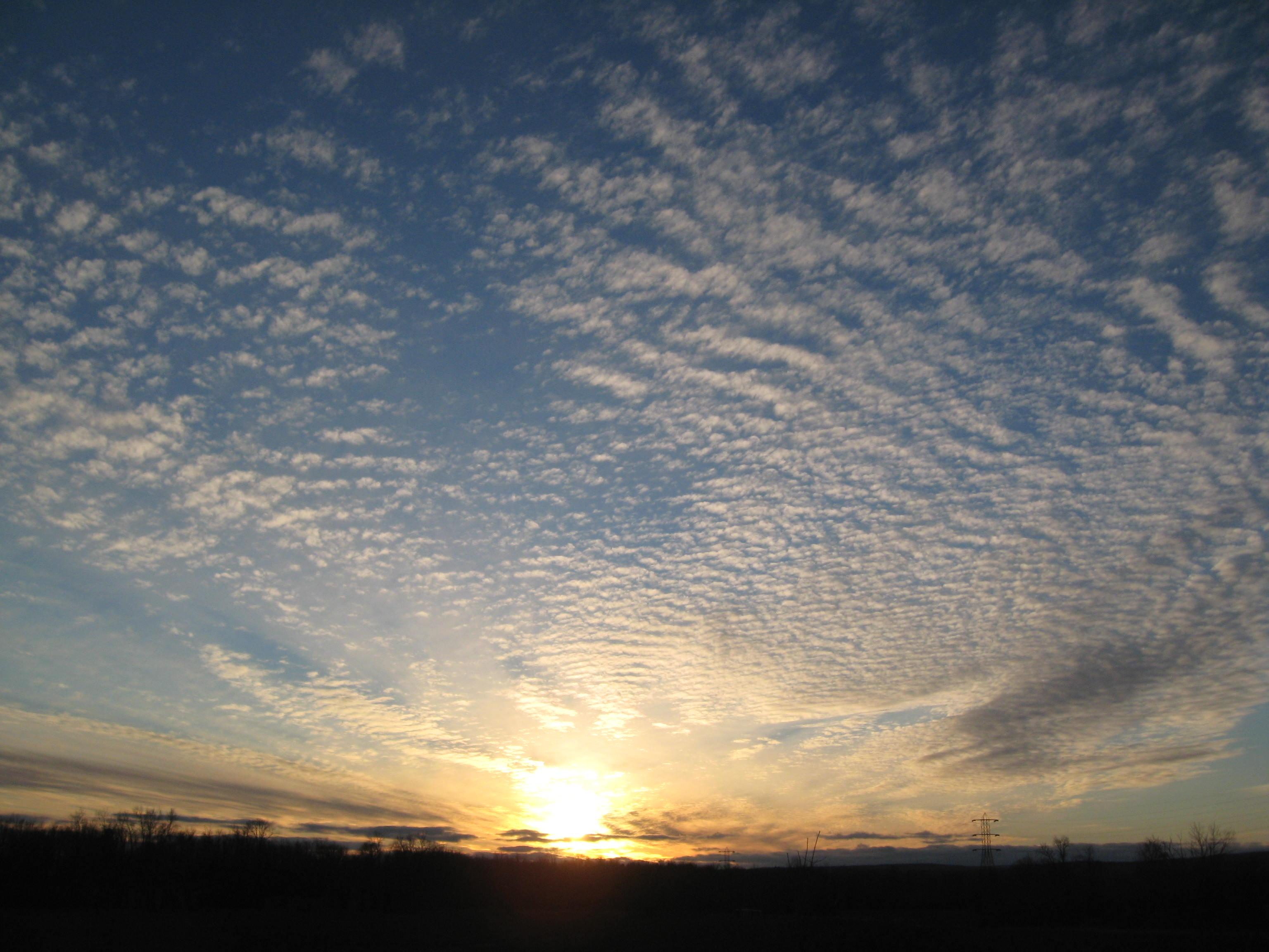 Sunset over the Helderbergs
