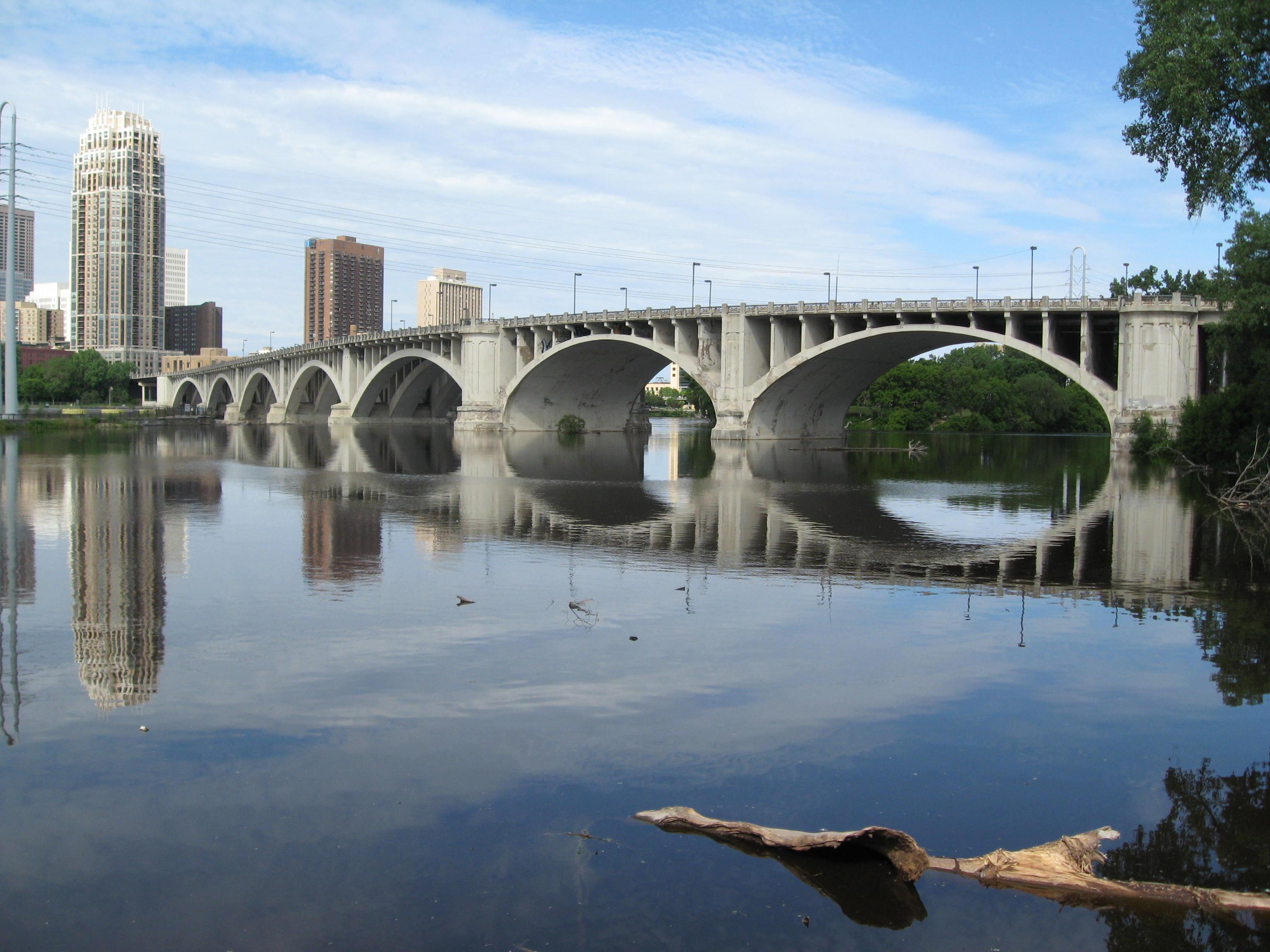 Bridge over the Mississippi, Minneapolis MN