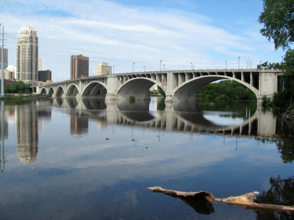 Bridge over the Mississippi, Minneapolis MN