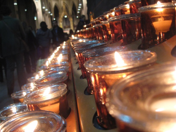 Votives, St. Patrick's Cathedral, NYC