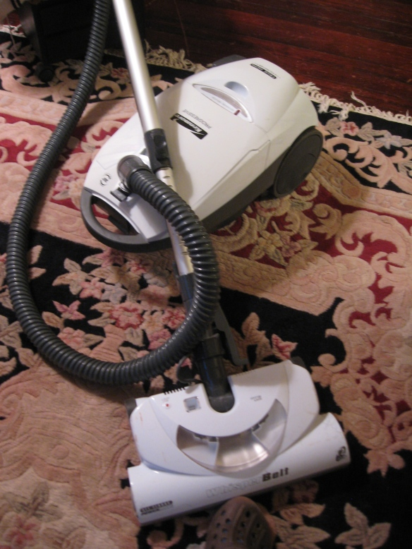 Tools at hand! my vacuum