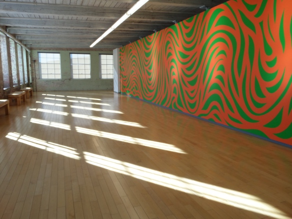 Sol Lewitt: A Wall Drawing Retrospective, Mass MOCA Winter 2015